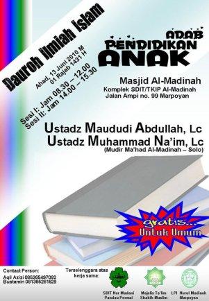 Adab Mendidik Anak - Muhammad na'im
