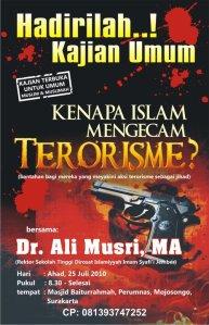 KENAPA ISLAM MENGECAM TERORISME?