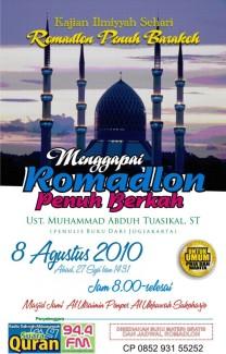 PANDUAN RAMADHAN | Bekal Meraih Ramadhan Penuh Berkah