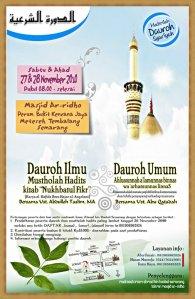 Dauroh Semarang Bersama Ustadz Abdullah Taslim, Ustadz Abu Qatadah, dan Ustadz Abu Izzi (27-28 November 2010)