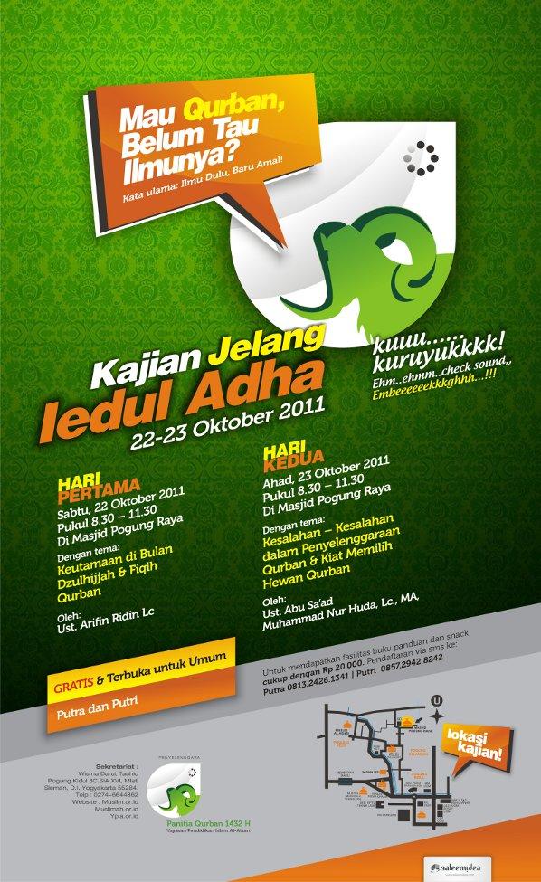 Kajian Jelang Idul Adha 1432 H (Yogyakarta, 22-23 Oktober 2011)