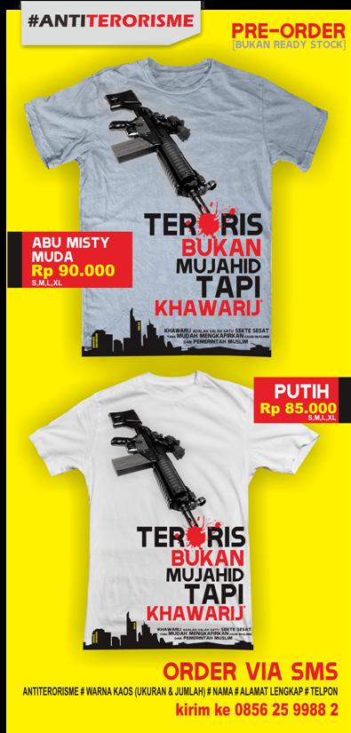 kaos anti terorisme teroris khawarij