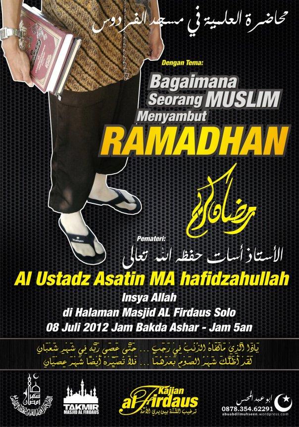 kajian islam menyambut ramadhan