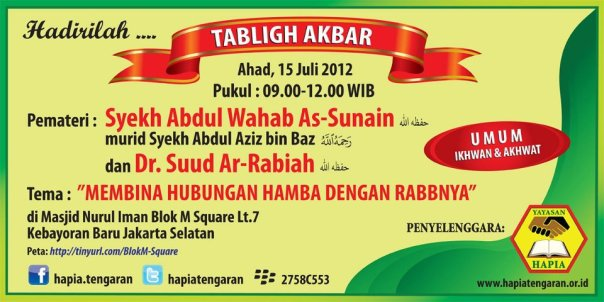 tabligh akbar ulama ahlus sunnah