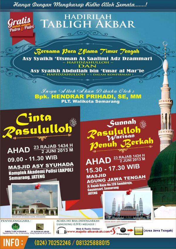 pengajian islam ulama yaman di semarang