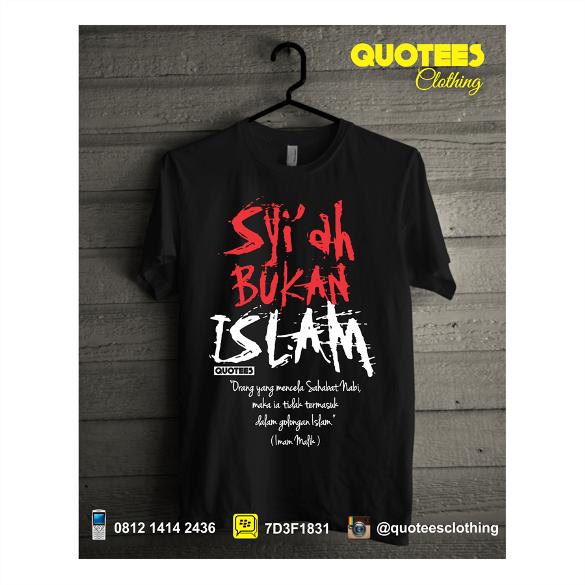 READY STOCK: Jual Kaos Distro Muslim dari Quotees Clothing